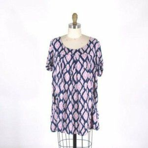 Anthropologie Holding Horses Abstractions Tunic XS
